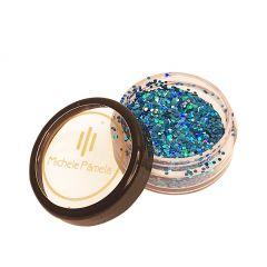 Michele Pâmela - Glitter Flocado 1,5g - Blue Glow 1